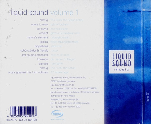 Various Artists - Liquid Sound Volume 1: Back