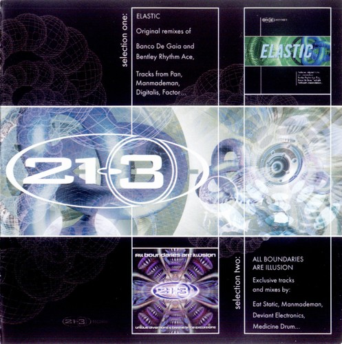 Various Artists - 21-3: Elastic & All Boundaries Are Illusion: Front
