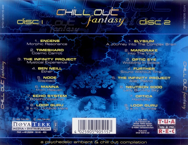 Various Artists - Chill Out Fantasy: Back