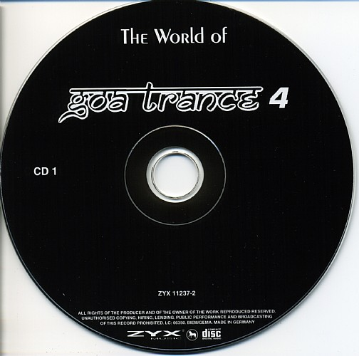 Various Artists - The World of Goa Trance 4: CD