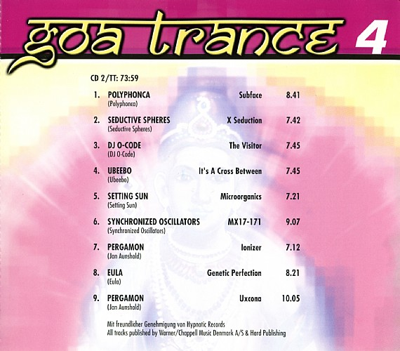 Various Artists - The World of Goa Trance 4: Inside 3