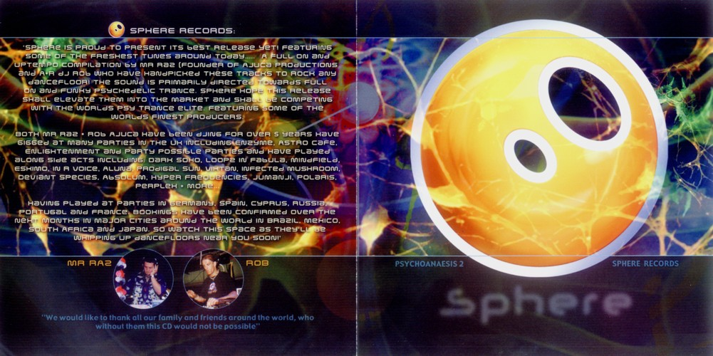Various Artists - Psychoanaesis 2 - Mind Directed Energy: Inside