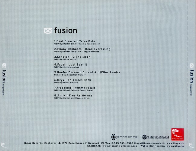 Various Artists - Fusion: Back
