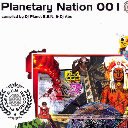 Various Artists - Planetary Nation 001: Front