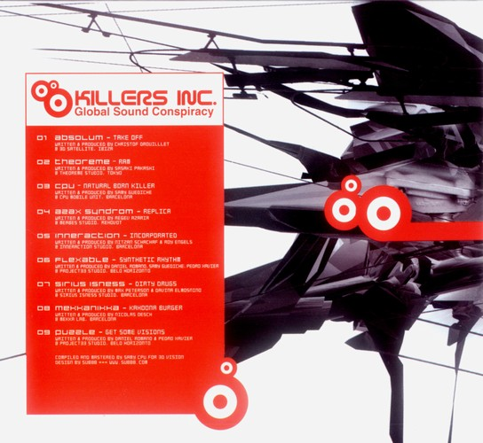 Various Artists - Killers Inc. - Global Sound Conspiracy: Inside