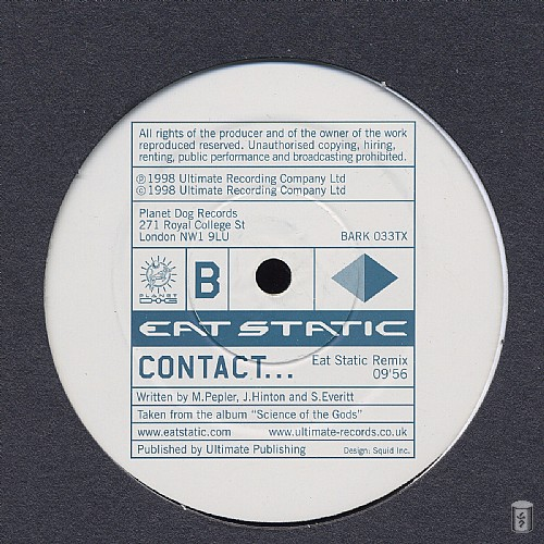 Eat Static - Contact EP: Side B