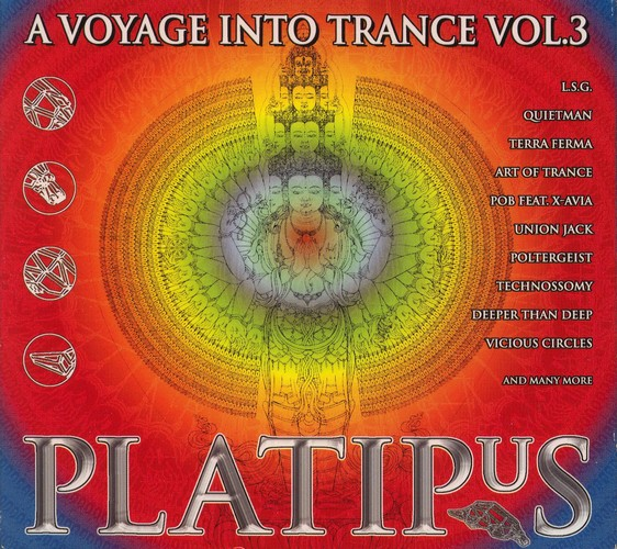 Various Artists - A Voyage Into Trance 3 - Platipus: Front