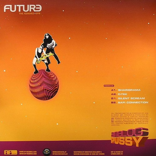 Analog Pussy - Future The Remixes 2 EP: Back