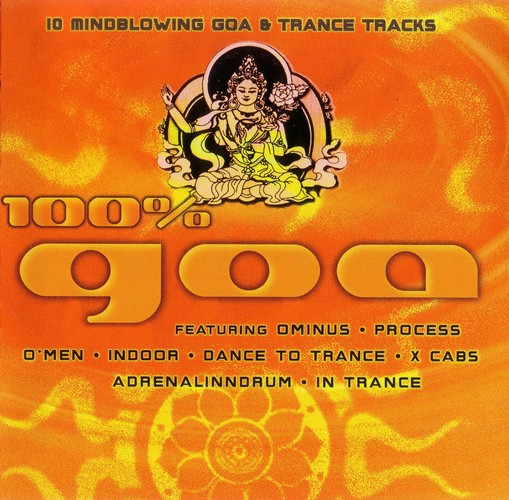 Various Artists - 100% Goa: Front