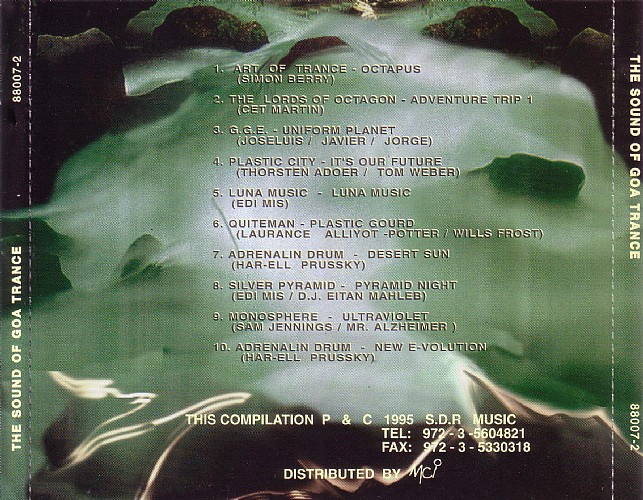 Various Artists - The Sound of Goa Trance: Back