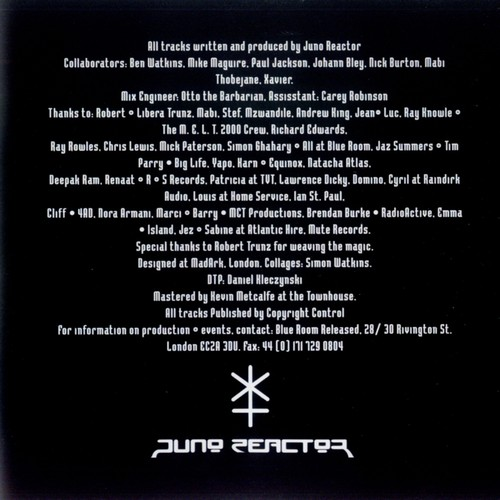 Juno Reactor - Bible of dreams: Inside 6