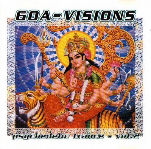 Various Artists - Goa-Visions - Psychedelic Trance 2: Front