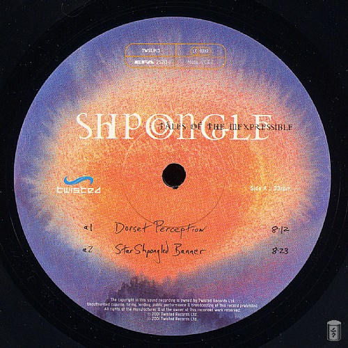 Shpongle - Tales of the Inexpressible: Side A