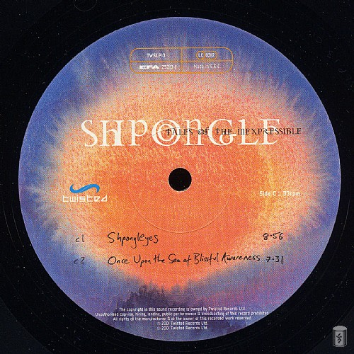Shpongle - Tales of the Inexpressible: Side C