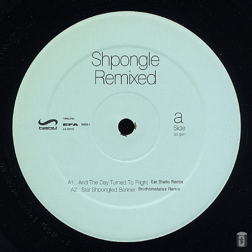 Shpongle - Remixed: Side A