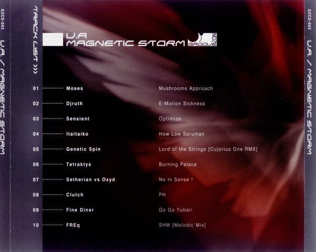Various Artists - Magnetic Storm: Back