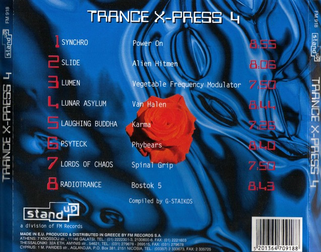 Various Artists - Trance X-Press 4: Back