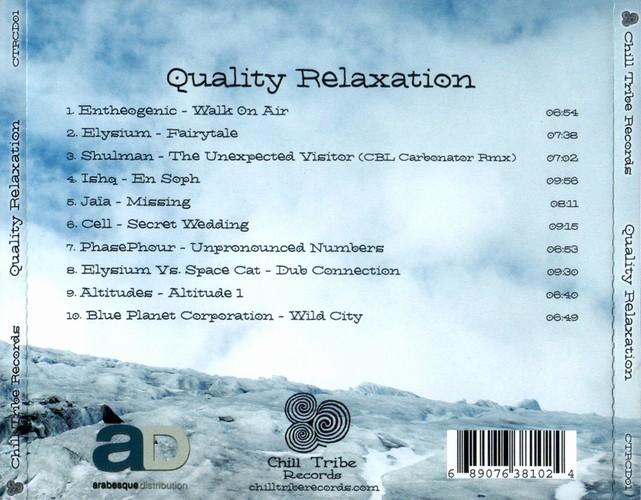 Various Artists - Quality Relaxation: Back