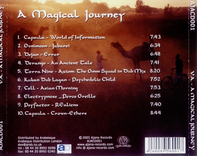 Various Artists - A Magical Journey: Back