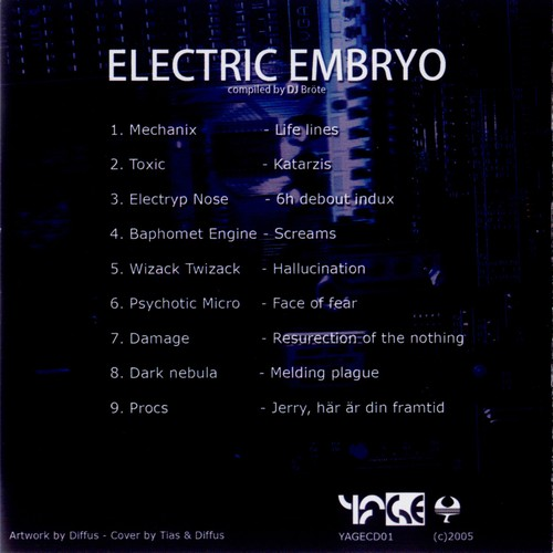 Various Artists - Electric Embryo: Inside 2