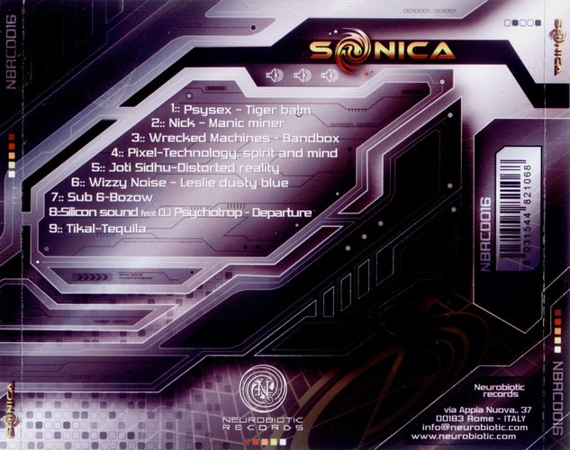 Various Artists - Sonica: Back