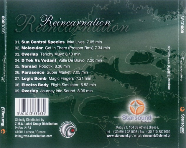 Various Artists - Reincarnation: Back
