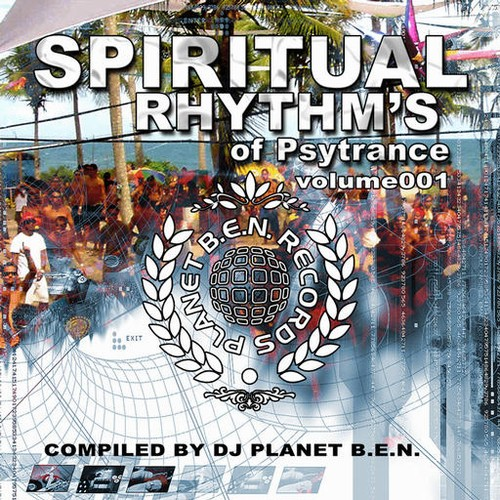 Various Artists - Spiritual Rhythm's of Psytrance volume 001: Front