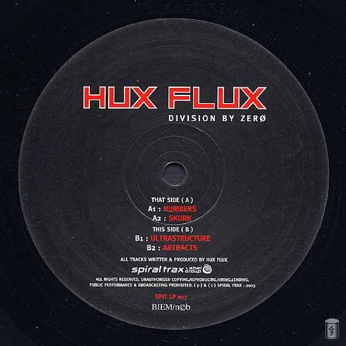 Hux Flux - Division By Zero: Side A