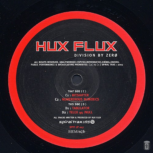 Hux Flux - Division By Zero: Side C