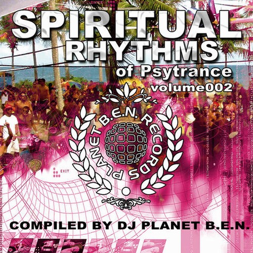 Various Artists - Spiritual Rhythm's of Psytrance volume 002: Front