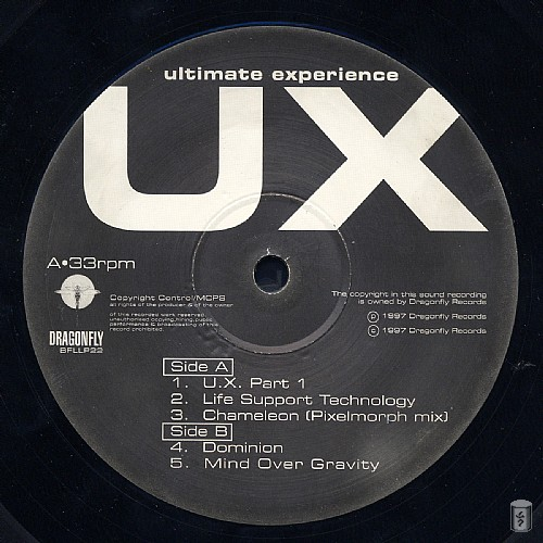 UX - Ultimate Experience: Side A