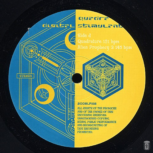 Quadra - Digital Stimulant: Side D