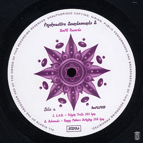 Various Artists - Psychoactive Scandosounds 2: Side A