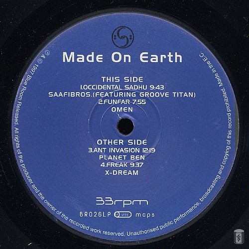 Various Artists - Made On Earth: Side A