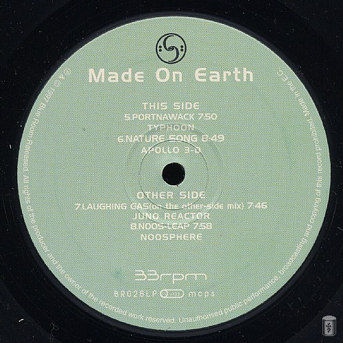 Various Artists - Made On Earth: Side C