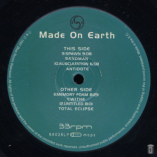 Various Artists - Made On Earth: Side E