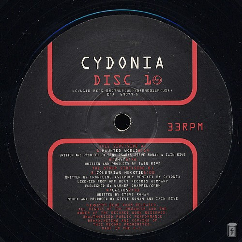 Cydonia - In Fear Of A Red Planet: Side A
