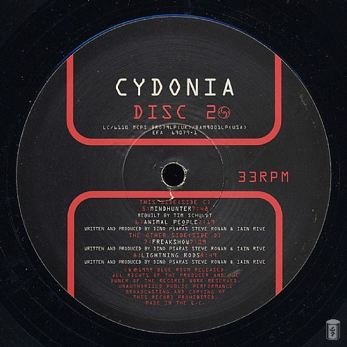 Cydonia - In Fear Of A Red Planet: Side C