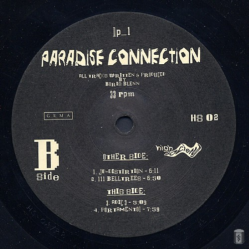 Paradise Connection - Paradise Connection: Side B