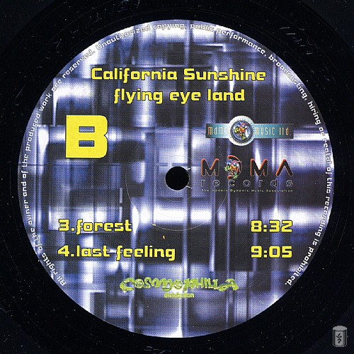 California Sunshine - Flying Eye Land: Side B