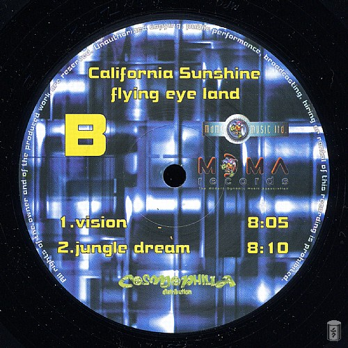 California Sunshine - Flying Eye Land: Side D