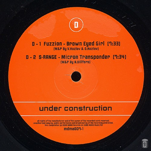 Various Artists - Under Construction: Side D