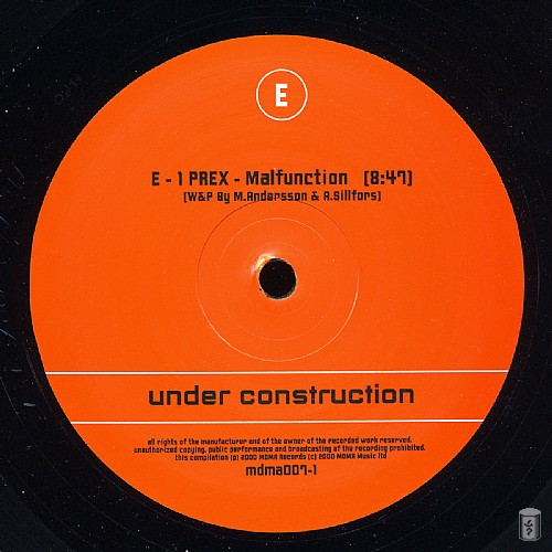 Various Artists - Under Construction: Side E
