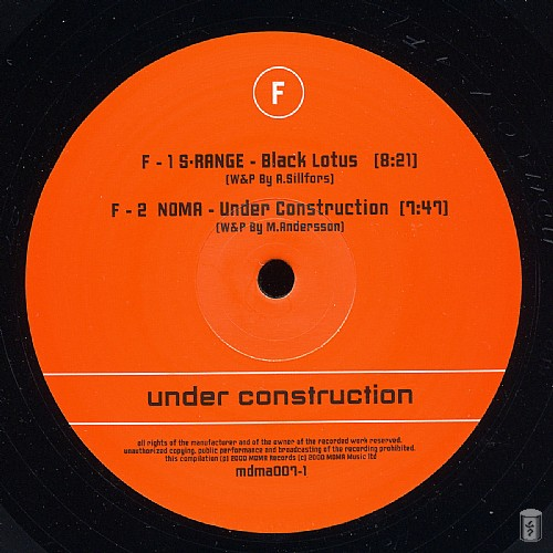Various Artists - Under Construction: Side F