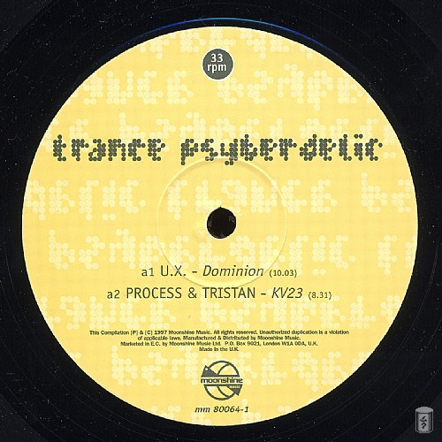 Various Artists - Trance Psyberdelic: Side A