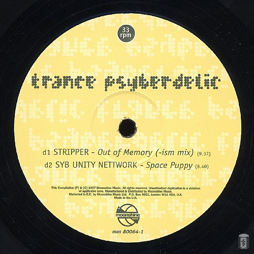Various Artists - Trance Psyberdelic: Side D