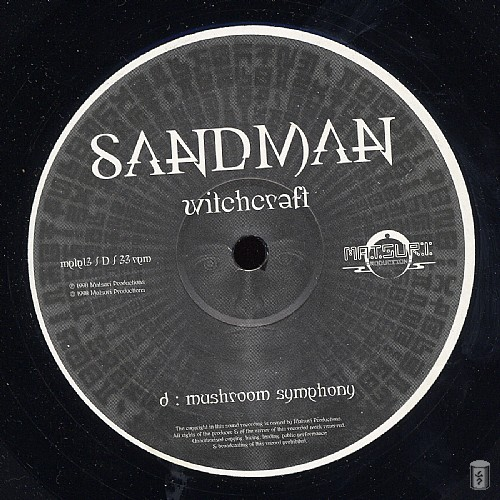 Sandman - Witchcraft: Side D
