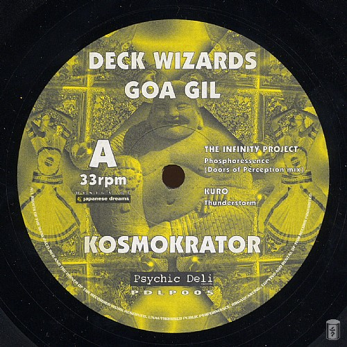 Various Artists - Deck Wizards 4 - Goa Gil - Kosmokrator: Side A
