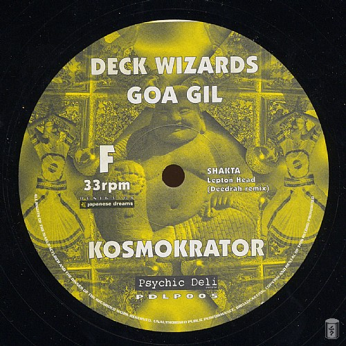 Various Artists - Deck Wizards 4 - Goa Gil - Kosmokrator: Side F