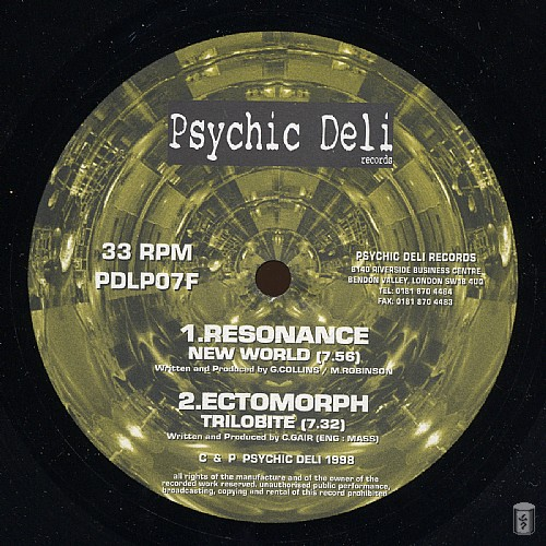 Various Artists - Psychedelic Electronica 1: Side F